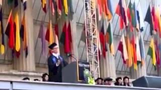 CNR Student Commencement Speech at UC Berkeley, Eric Andersen