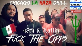 """Fuck The Opps 🔫"" La Raza Chicago Folks Gang Drill Rap LRz 48th & Laflin Back Of The Yards 🇲🇽"
