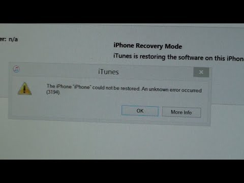 Hello dea ! via this video i jus want to show some idea or method a bout how​ to solve iTune Error .