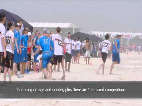 ZDF Sport report on the World Championships of Beach Ultimate - With Subtitles