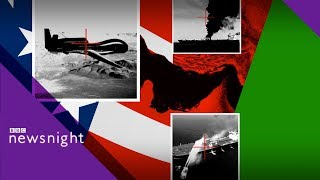 US-Iran: Could the US end up in an accidental war? - BBC Newsnight