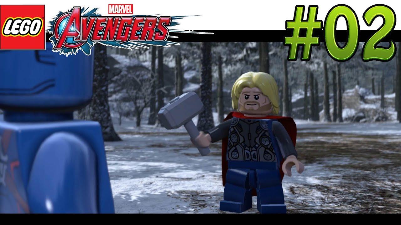 LEGO - Marvel Avengers Full-HD #02 - Struckers Festung ...