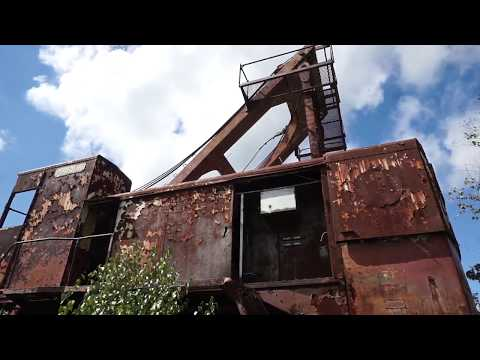 Exploring An Abandoned DRAGLINE Used For Coal Mining