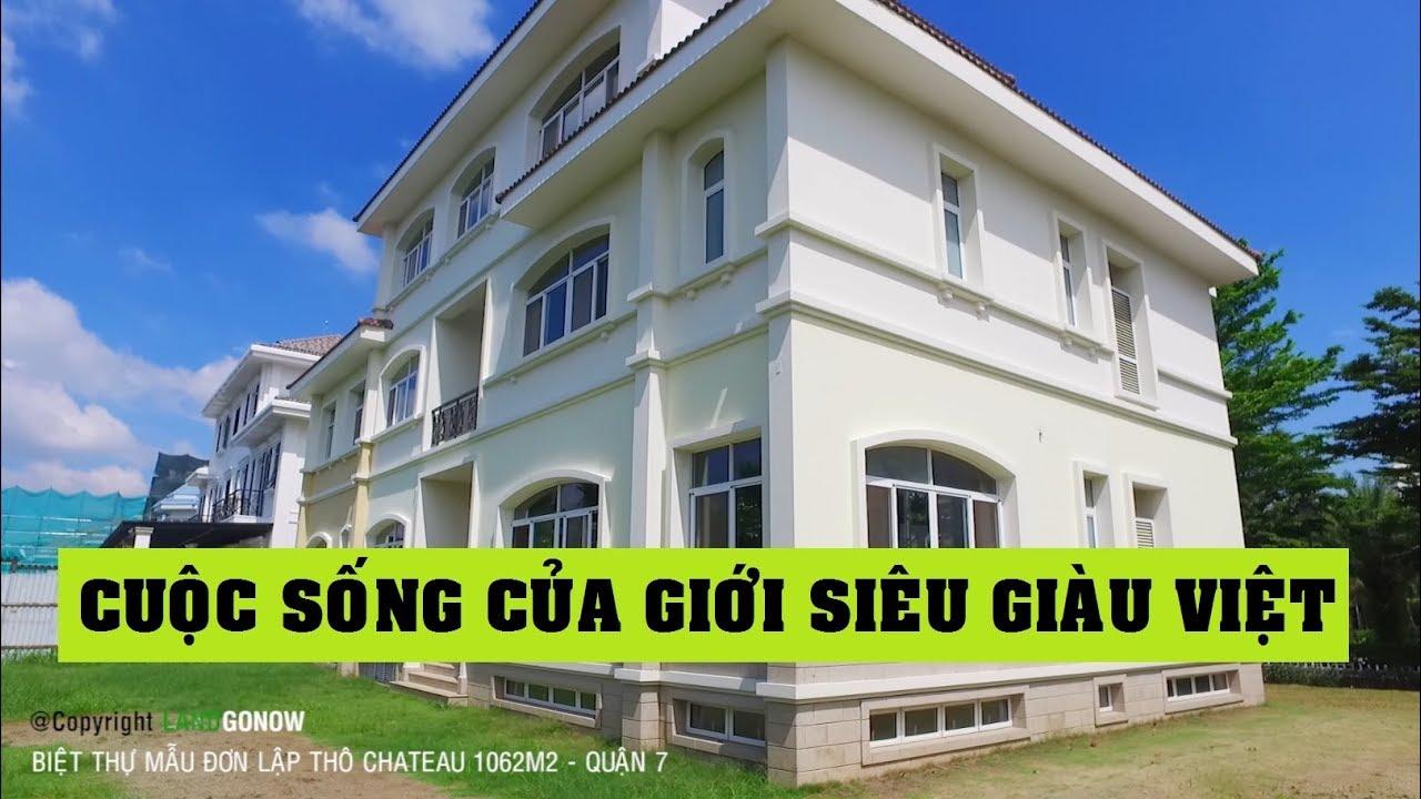 Biệt thự Chateau 1062m2 đơn lập Phú Mỹ Hưng, Quận 7 – Land Go Now ✔