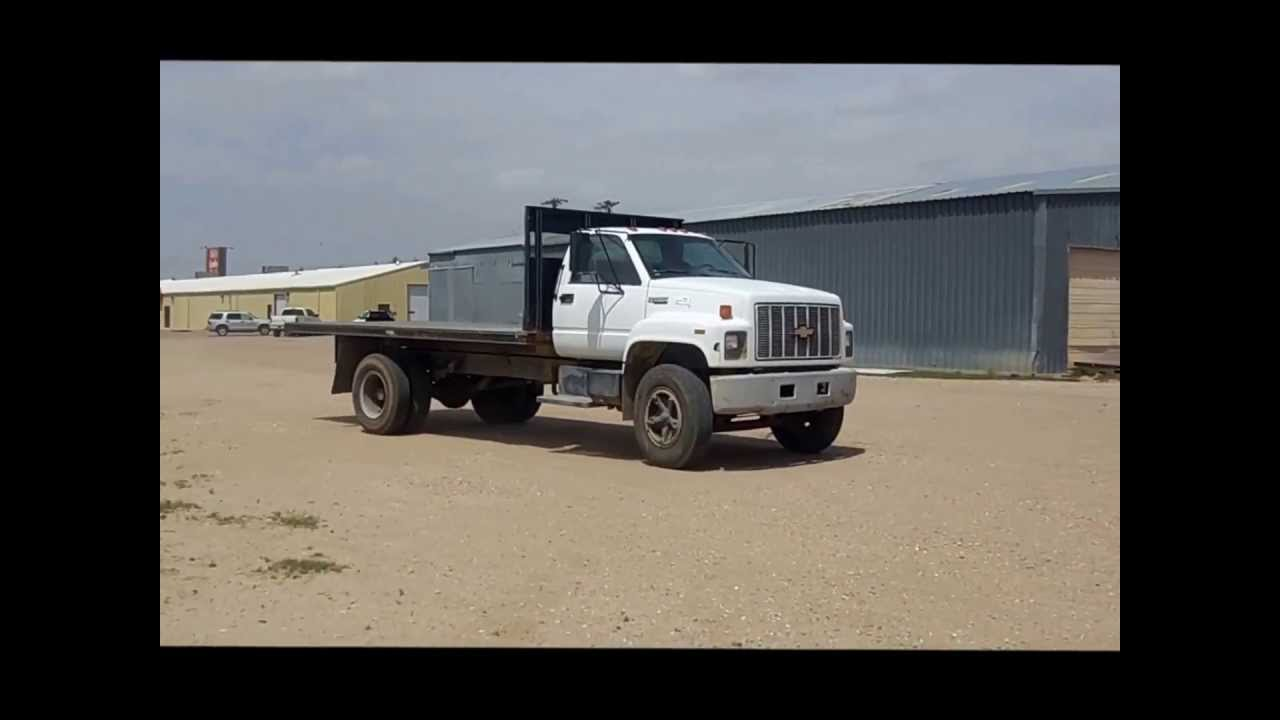 1991 chevrolet kodiak dump truck for sale sold at auction june 25 2013
