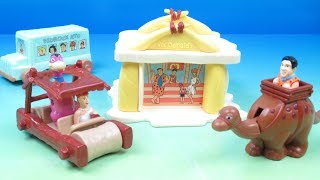 1993 The Flintstones set of 4 McDonalds Happy Meal Kids Toys Video Review