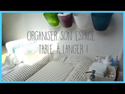 tips organiser son espace table langer zakira youtube. Black Bedroom Furniture Sets. Home Design Ideas