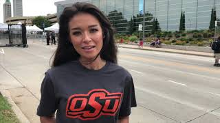 OAN reporter Chanel Rion showed up to Trump rally in OSU shirt
