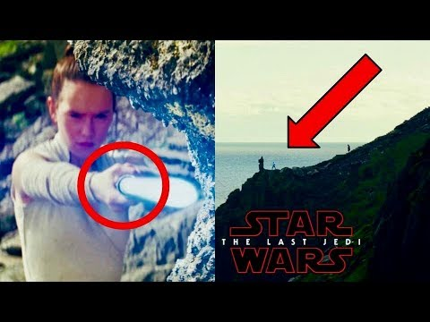 What Lightsaber Combat Form is Rey Being Trained in by Luke? - The Last Jedi Trailer Explained