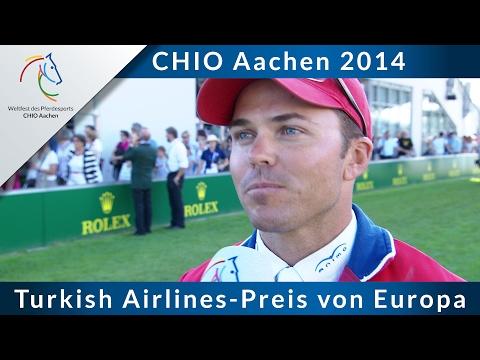 CHIO Aachen 2014: Turkish Airlines-Preis von Europa