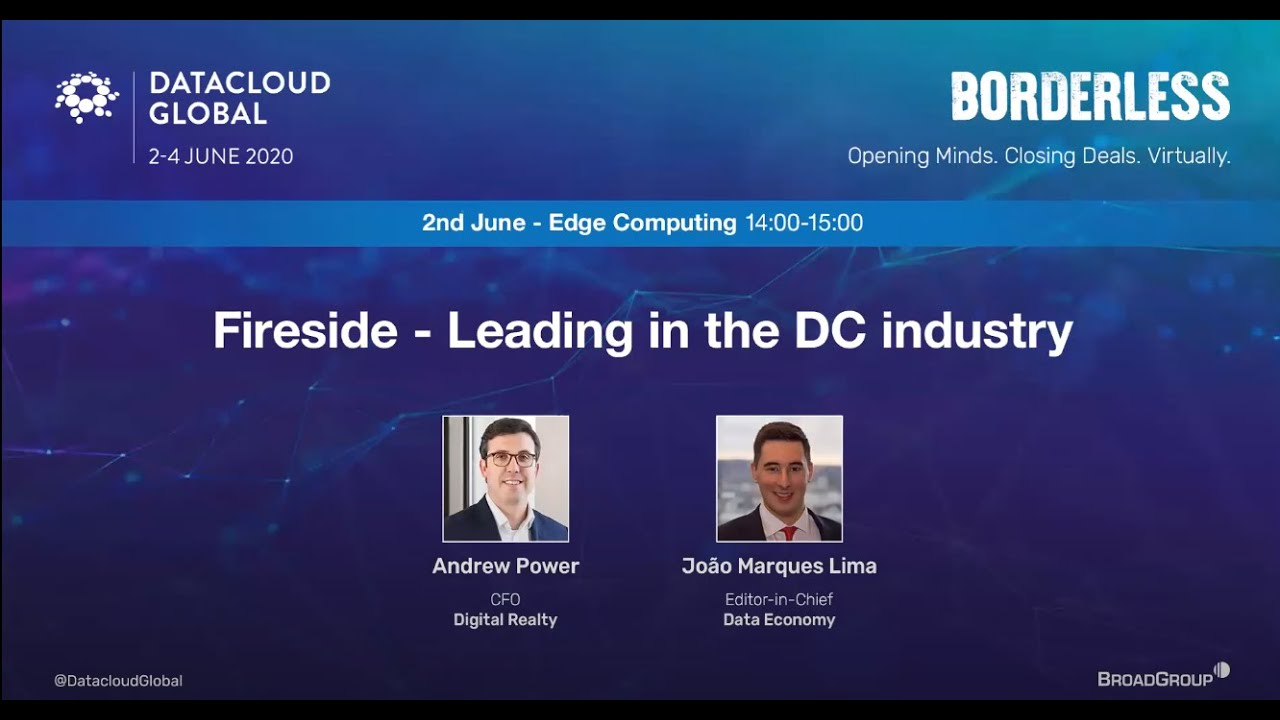 Exclusive. Leading in the data centre industry, with Andy Power, CFO, Digital Realty   Data Economy