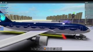 [ROBLOX] Flight onboard Aqua Airways! (Fail I guess.......)