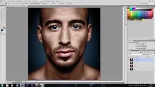Photoshop обработка - Из чёрно-белого в цветное.