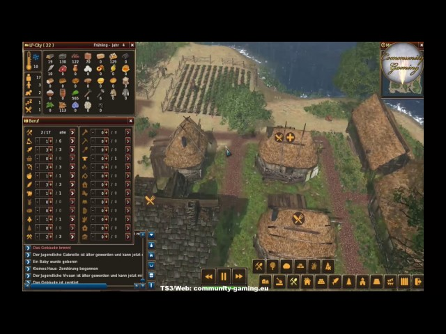 Let's Play Life is Feudal: Forest Village   Wir Verhungern !!!   Folge #010