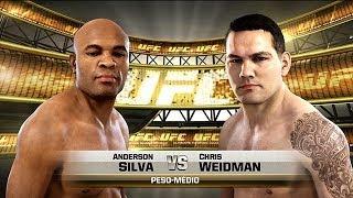 UFC - Anderson Silva VS Chris Weidman - Xbox ONE