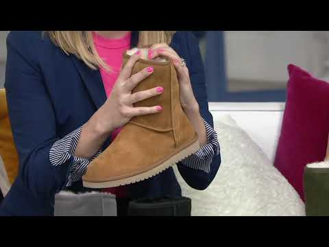 Koolaburra by UGG Choice of Suede Tall or Short Boots - Koola on QVC