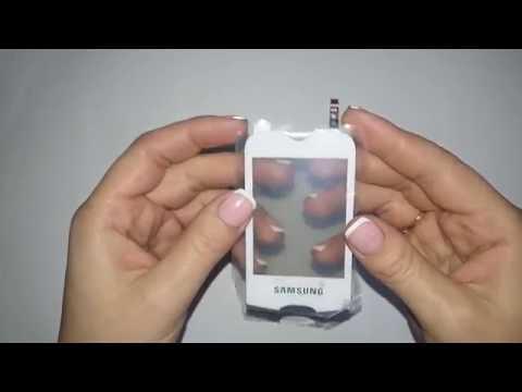 Сенсорный экран Samsung s3370
