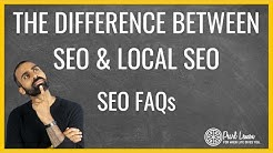 Difference Between SEO And Local SEO? Pearl Lemon SEO FAQs