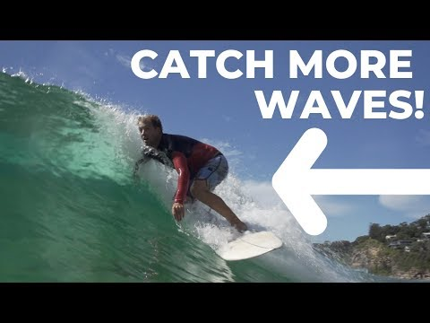 How To Pivot & Swing To Catch A Wave | Detailed Surf Tutorial