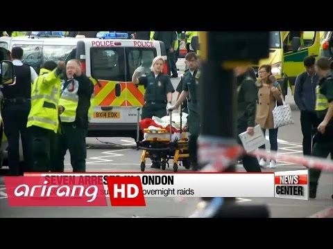 UK police arrest eight suspects in London terror attack