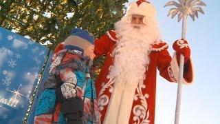 видео Зажжение новогодней елки в Сергиевом Посаде.