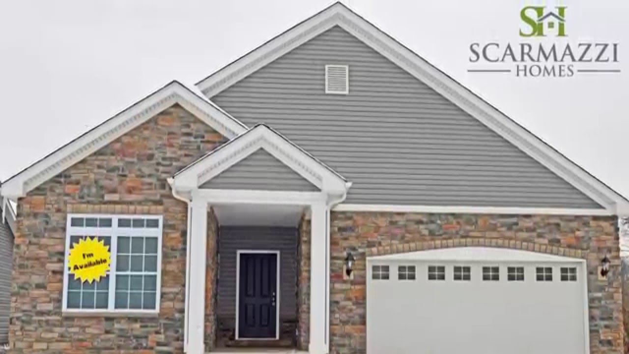 Quick Move In Portico Patio Home , Canonsburg, Washington County, Pa.  Scarmazzi Homes ...