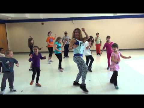 Waka Waka, by Shakira, Choreo by Natalie Haskell for Kids Dance Fitness