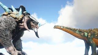 Ice Titan VS Titanosaur - ARK: Extinction | Cantex