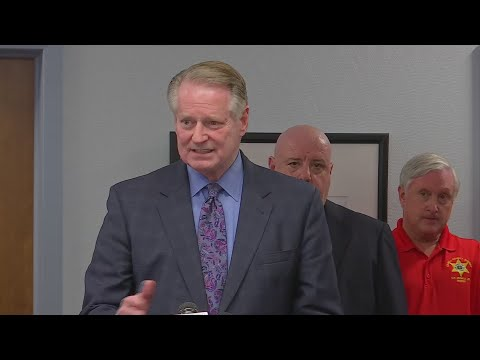 Huntington Holds Press Conference On New Year's Shooting