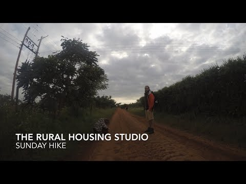 The Rural Housing Studio : SUNDAY HIKE