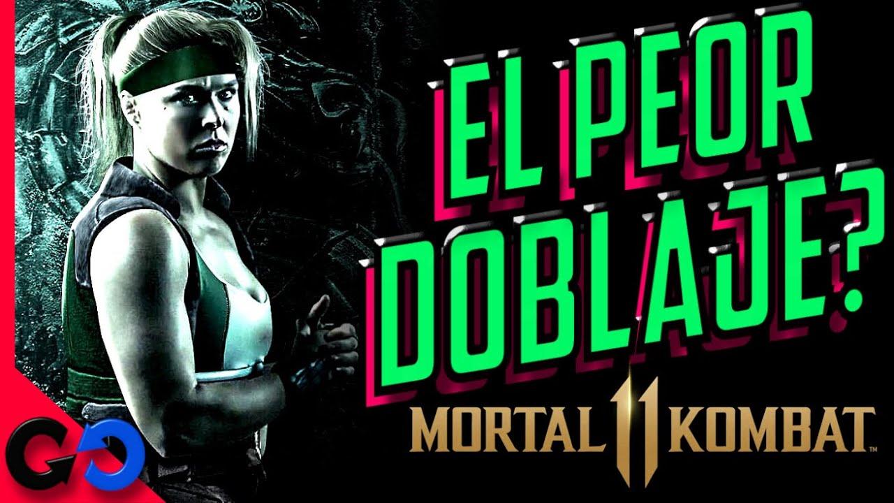 Mortal Kombat 11 Cual es el PEOR Doblaje del juego? // Actores de VOZ en el videojuego?