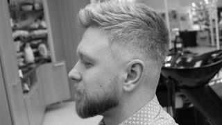 мужская стрижка и дизайн бороды от HOOLiGANZ (смотреть до конца!)(мужская стрижка и дизайн бороды в исполнении Антона Шмелева cпециально для HOOLiGANZ barbering school. music: Mikey Jay - Ceis..., 2015-03-29T18:19:10.000Z)