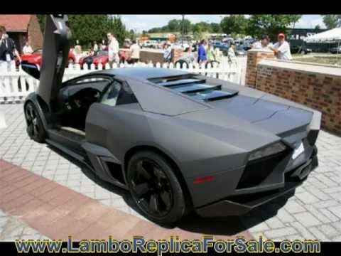 Great Lamborghini Reventon Replica Project Part 2. A Quick Kit Car Update Before  Molding Process. Video B.   YouTube