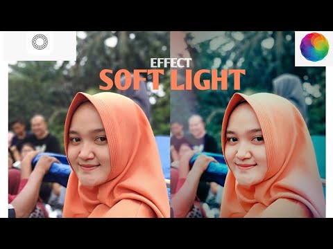 How to edit foto SOFT LIGHT ( afterlight,vsco)