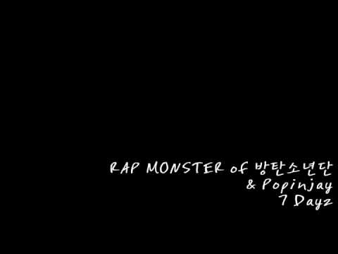 RAP MONSTER of 방탄소년단 & Popinjay - 7 Dayz