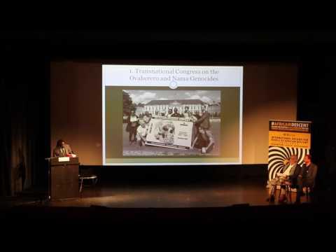 [#6]Ovaherero and Nama Genocide Congress in Berlin 2016: Jephta Nguherimo