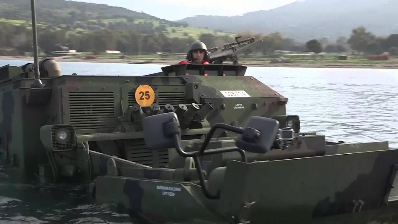 KUNDUZ AZMİM - AACE Amphibious Armored Combat Earthmover