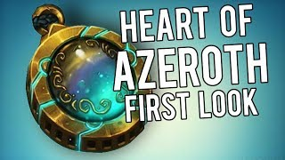 Heart of Azeroth Preview Effects! - WoW Legion 7.3.5