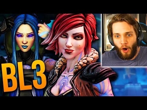 BORDERLANDS 3 REACTION... WE'VE WAITED 7 YEARS FOR THIS!!  (Borderlands 3 Trailer Reaction)