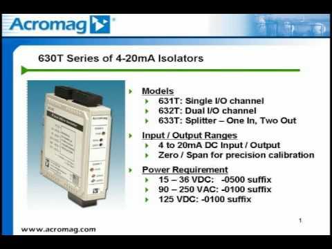 Acromag 600T Series