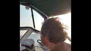 Iam with my Wife Boating