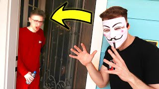 Project Zorgo In Real Life PRANK on Roommate!! (Roblox Vlog)