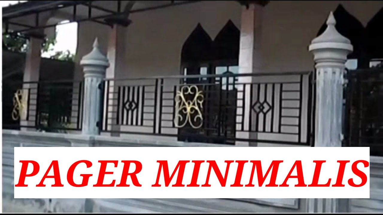 MODEL PAGAR MINIMALIS MASJID - YouTube