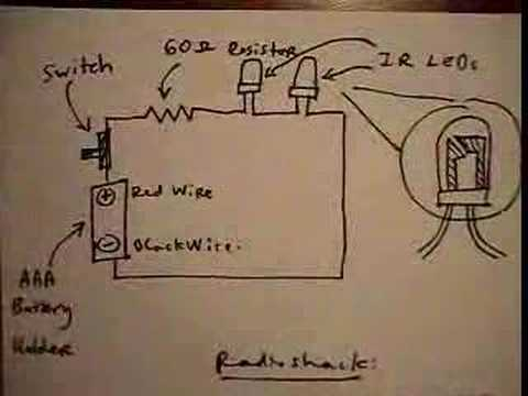 How to Make a Wireless Wii Sensor Bar - YouTube   Wii Sensor Bar Wire Diagrams      YouTube