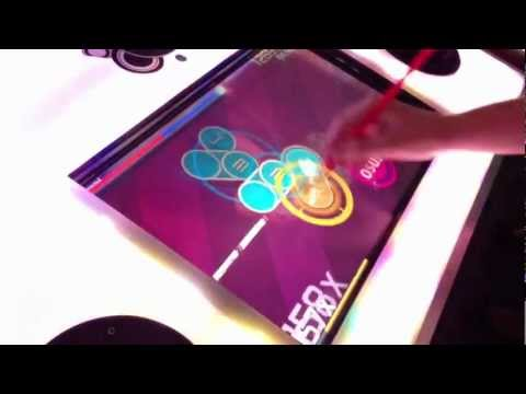 osu!arcade with a straw