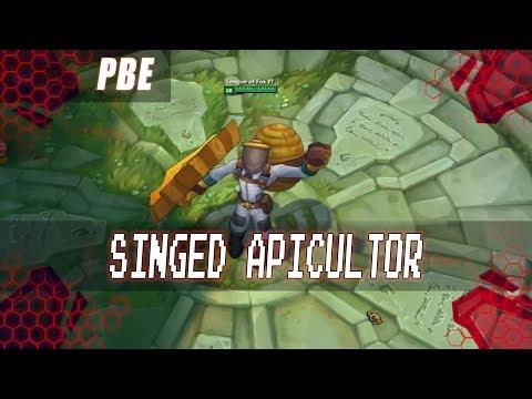 Nuevo Skin Singed Apicultor Bee Keeper Singed Rp