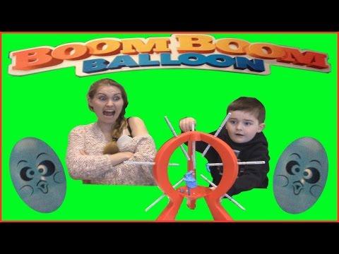 Boom Boom Balloon, Balloon Popping Challenge