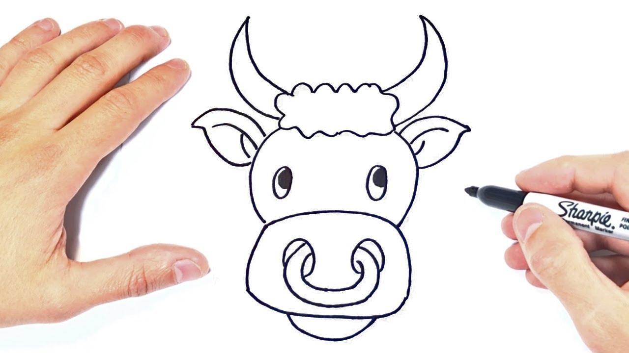 Como Dibujar Un Toro Paso A Paso Dibujo De Toro Youtube