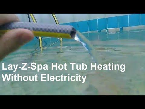 Lay Z Spa Intex Solar Heater Using The Uk Sun To Heat A Hot Tub
