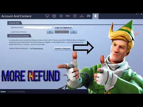 *Refund More Than 3 Items In Fortnite*(Not Clickbait)100% Legit Way To Refund More Than 3 Skins!